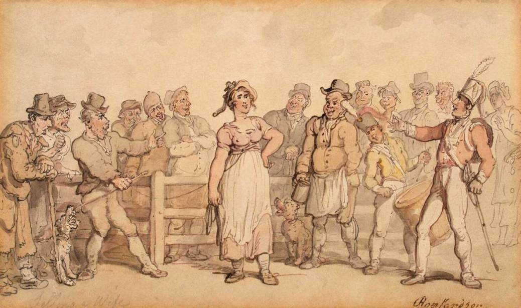 thomas_rowlandson_-_selling_a_wife_-_wga20172